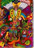 entities collating (SociétéRoyale) Tags: dmt1 dmt psychedelic acid letters trippy lsd world entities alive madness hello trip drawing colour eyes