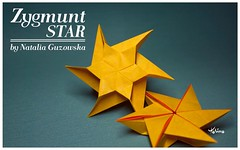 Zygmunt Star (talina_78) Tags: origami star hexagon tutorial