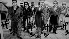Delinquents... (tralala.loordes) Tags: thecrows manga japan delinquents high school davidheather pixiecats exilehair tralalaloordes fashion blackwhite gangs menace azoury secondlife virtualreality 3d mesh monochrome flickrunitedaward