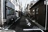 Sutorīto (tsuki_namida) Tags: japan travel tokyo kinshicho street alley bike old polar desaturate