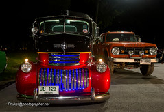 Vintage cars from American Car Club South of Thailand