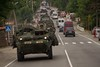 2CR convoy from Senaki to Vaziani Training Area, Georgia July 31, 2017 (2d Cavalry Regiment) Tags: 2cr strongeurope 1squadron2dcavalryregiment 2dcavalryregiment dragoons georgia noblepartner17 soldiers stryker troopers usarmy usareur