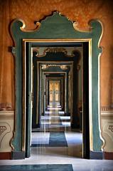 Perspective     -  Explore 1/8/17 (Aránzazu Vel) Tags: martinafranca porte doors puertas perspectiva perspective palazzoducale art puglia italia