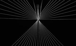 Bridge Architectural Detail B/W