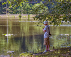 Gone Fishing (vodophoto's images) Tags: people portrait male fishing olympusmirrorlessphotography