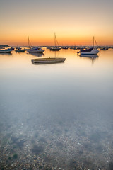 South England sunset (DST-photography) Tags: dst photography daan steinhaus sunset poole united kingdom bournemouth sandbanks boat sun sky orange contrast abstract sunrise epic dramatic beautiful uk england europe water sea long exposure nikon d7100 sgma sigma wide angle colours skyglory