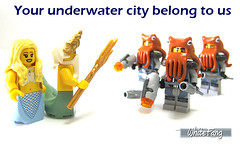 Your underwater city belong to us (WhiteFang (Eurobricks)) Tags: lego collectable minifigures series city town space castle medieval ancient god myth minifig distribution ninja history cmfs sports hobby medical animal pet occupation costume pirates maiden batman licensed dance disco service food hospital child children knights battle farm hero paris sparta historic ninjago movie sensei japan japanese cartoon 20 blockbuster cinema