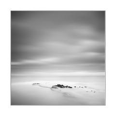 Dotted sea (YFphoto168) Tags: ocean sea clouds sandiego lajolla long exposure blackandwhite water nd 16stopper olympus