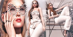 ♚ 361 ♚ (Luxury Dolls) Tags: white black sunglasses glasses azdesign new style store shoes cool avaway cosmopolitan event gacha theepiphany epiphany rare gift free hairfree rings bento fiore maitreya kennyrolands kr shinyshabby ad analog breathe blog blogger