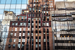 #33 NYC reflecting architecture (Chris Herzog) Tags: ifttt 500px sky city downtown reflection window light buildings architecture towers cityscape skyline skyscraper highrise metropolis urbanscape big apple midtown uptown tall building street usa america new york nyc manhattan