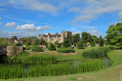 Hever Castle (Allan Jones Photographer) Tags: hevercastle hever kent castle fortification anneboleyn kinghenryviii history historic grounds gardens greenery bridge water stream river trees topiary tourists allanjonesphotogarpher canon5d4 canonef24105mmf4lisiiusm