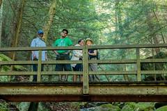 On the Bridge (Explored) (Phil Johnson II) Tags: philipjohnsonii mcconnellsmill