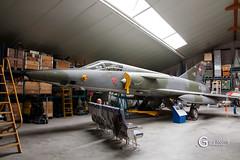 R-2107 Dassault Mirage IIIRS (Gary J Morris) Tags: psaero baarlo venlo netherlands wr wrecksrelics r2107 dassault mirage iiirs