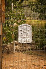 _DSC1205 RIP web (CoriJae) Tags: chloride arizona tombstone fence desert bokeh