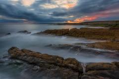 Hook Head sunset (Michał.Włodarczyk) Tags: wybierz sea seascape sunset ireland hook water ocean sun sunlight rocks clouds sky