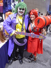 Joker Prince & Bowie Quinn (cherylldelrosario) Tags: sdcc comiccon cosplay costume sdcc2017 comiccon2017 joker harleyquinn dc prince bowie