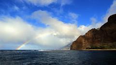 Na Pali Coast (rjs220302) Tags: kauai rainbow napali hawaii