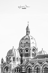 LA MAJOR (LOLO13500) Tags: france nikon marseille church architecture bw major 70200