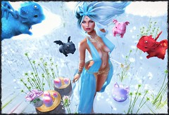 Where they learn to Fly :) (Rhenu Resident) Tags: collabor88 crystalheartevent luxebox theliaisoncollaborative theseasonsstory we3rp birdy cureless ikon lumae mishmish moonamore mushilu tableauvivant una keke