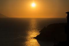 and the sky breaks the dawn (pat.netwalk) Tags: capovaticano sunset dawn stromboli copyrightpatrickfrank bildgutch
