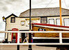 Horizontal lines with a few others!  Broadstairs (philbarnes4) Tags: viking bay broadstairs thanet kent england unitedkingdom nikon d5500 coast coastal dslr philbarnes lifeboatstation lines horizontal woodenbuilding clock telephonebox vikingbay boat