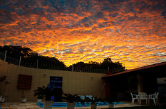 Mesmerizing Weather (LeoMuse747) Tags: mesmerizing weather sunset sunrise art artistic photo photography sunshine sungaze sungazing nikon d5100 nikkor 18105mm vr lens camera leomuse747 pool poolside fortaleza ceará ceara brasil brazil brazilian brasilian northeast cloud clouds sky layer gold golden