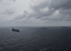 170717-N-JH929-159 (U.S. Pacific Fleet) Tags: ussnimitz cvn68 sailors aircraftcarrier usnavy deployment malabar bayofbengal
