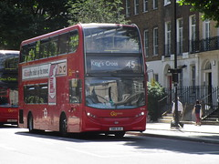 June Bus Photography Day 9 (26/06/2017) (Tobytrainspotting13) Tags: tobytrainspotting13 london buses june 2017 monday 26th southwark waterloo blackfriars road goahead enviro 400 route 45