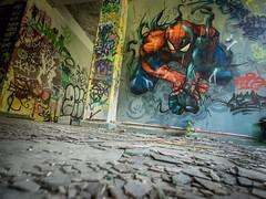 Artist : Unknown to me (France), Rhodiaceta (Sacha Medjedovic) Tags: graf graff graffiti mural street art