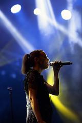 frozen angora (s.f.p.) Tags: marlango leonor watling madrid concierto cantante getafe cultura inquieta perfil contraste escenario concert singer profile contrast music musica