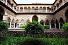Reales Alcázares de Sevilla (Mark Wordy) Tags: seville sevilla spain realesalcázaresdesevilla alcazarofseville gameofthrones dorn thecourtyardofthemaidens moorish
