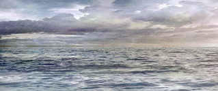 Sea watercolor