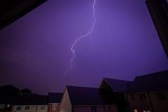 Lightning strikes over Basingstoke, UK (jordangillardpk) Tags: shoot extreme love look style cool basingstoke shutter clouds houses color colours canon lightningstrike wideangle 10mm nikond5500 nikon photography flickr exposure rain nature weather lightning