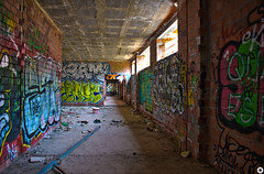 Hallway to nowhere (Black prism) Tags: ue weekstartingsunday16july2017 abandoned building 52weeksthe2017edition week29theme urbanexploring hdr hallway urbex urbexing bexing málaga andalucía españa es