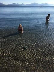 Kringstadbukta - - Bathing (erlingsi) Tags: erlingsi iphone molde kringstadbukta norway bathing beach