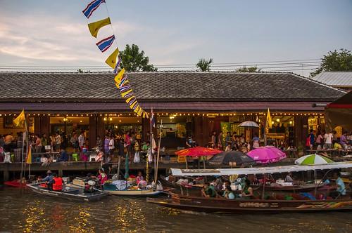 marché flottant amphawa - thailande 17
