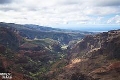 Waimea Canyon (Patrick.Burns) Tags: kauai hawaii waimea wilderness helicopter canyon island landscape