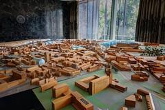 Model City (Dave Dixon LRPS) Tags: newcastleupontyne newcastle civiccentre architecture urban interior townplanning