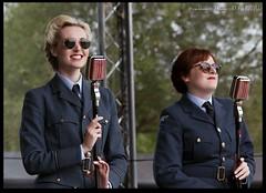 The Bluebird Belles (zweiblumen) Tags: thebluebirdbelles 1940sweekend blackcountrylivingmuseum concert dudley tipton westmidlands england uk canoneos50d canon70300mm zweiblumen raf