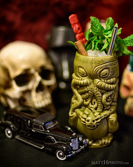 Zombie (Don the Beachcomber) (matthucke) Tags: tiki donthebeachcomber cocktail tropicaldrink tikidrink zombie cthulhu