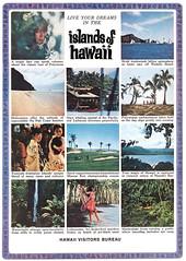 1966 Hawaii Visitors Bureau (Tom Simpson) Tags: hawaii vintage ad ads advertisement vintagead vintageads 1966 1960s travel tourism island