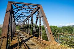 Puente sobre el rio Duero (cvielba) Tags: duero puente valladolid peñafiel rio tren