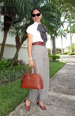 FB_IMG_1499794606409 (VeronArmon) Tags: bow blouse tie silk satin model long short legs high heels blonde woman lady cute beautiful office strict formal secretary pose skirt scarf pinup