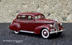 1938 Oldsmobile L-38 Touring Sedan (JCarnutz) Tags: 143scale diecast durham whitemetal 1938 oldsmobile l38 touringsedan