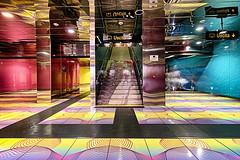 Universita 8 (isnogud_CT) Tags: universita statione bahnhof ubahn underground neapel italien linea1 treppe