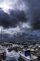 Puertochico.... (Martika64) Tags: nubes cielo puerto barcos marina paisaje paisajemarino dársena clouds ski port landscape mar océano santander