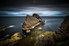 Low Bow (Augmented Reality Images (Getty Contributor)) Tags: bowfiddlerock canon clouds coastline colours landscape leefilters littlestopper longexposure morayfirth portknockie rocks scotland water waves