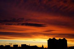 IMGL3888_DxO (baptisteflageul) Tags: couchedesoleil sunset soir evening soleil sun nuages clouds cloudporn ciel sky skyporn orange rouge red jaune yellow wow nature paysage landscape bleu bluehour blue paris france urbain urban