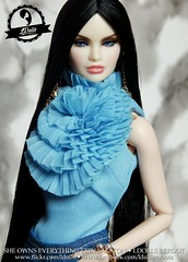 Reroot No. 40 (LDolls) Tags: sheownseverythingerinsalston ldollsreroot dollreroot dollrerooting it integritytoys nuface nufacereckless erinsalston take me on vanessa
