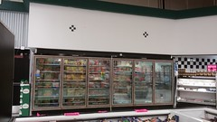 The Case of the Cases (Retail Retell) Tags: superlo foods grocery store southaven ms desoto county retail former schnucks albertsons seessels corrugated metal decor interior seesselsbyalbertsons